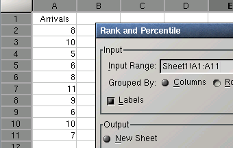 Rank and Percentile Tool
